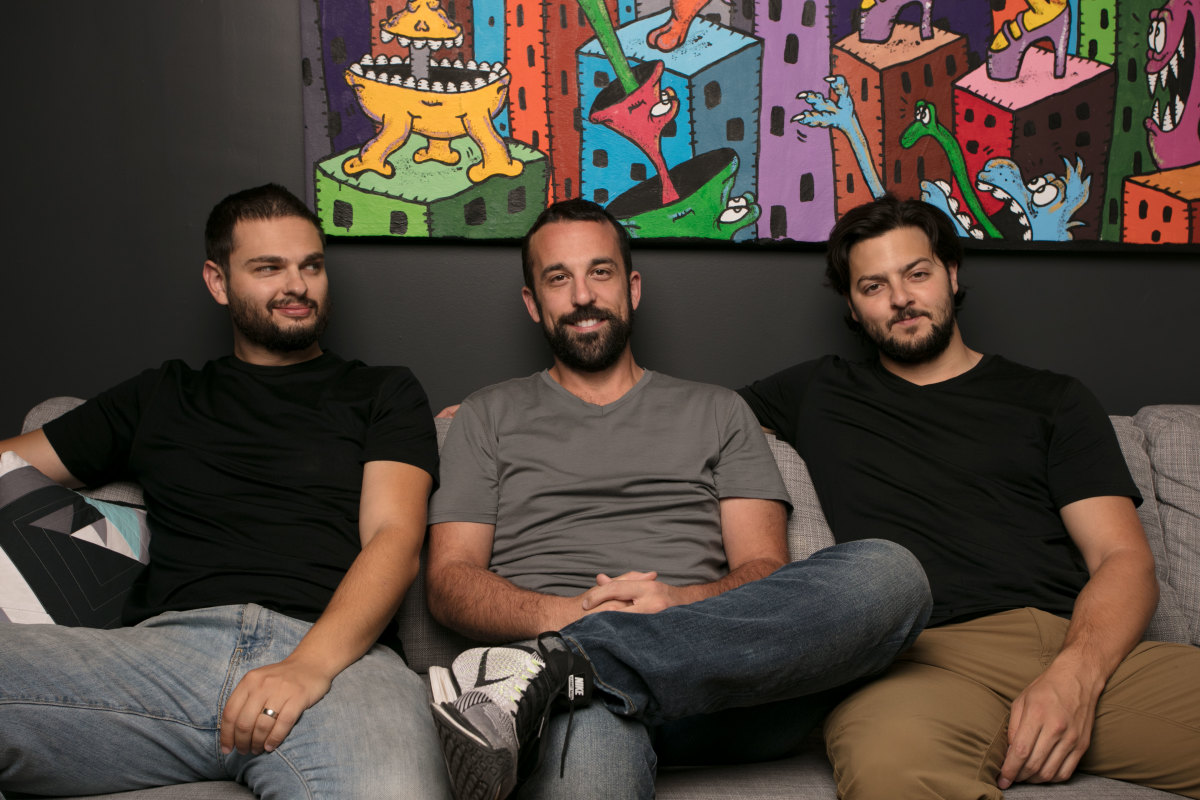 Dima Zelikman, Dan Demsky and Andrew Criboni - Unbound Founders