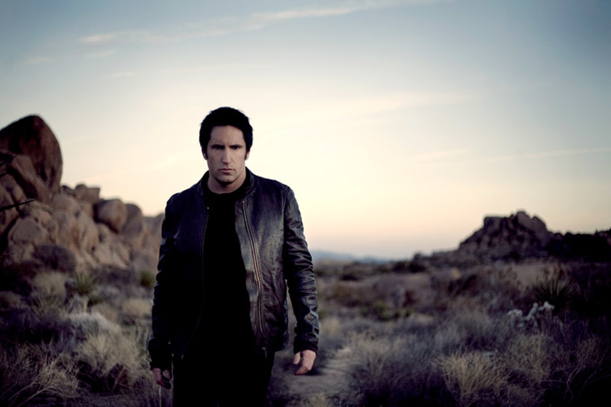 Trent Reznor - Photo By Rob Sheridan