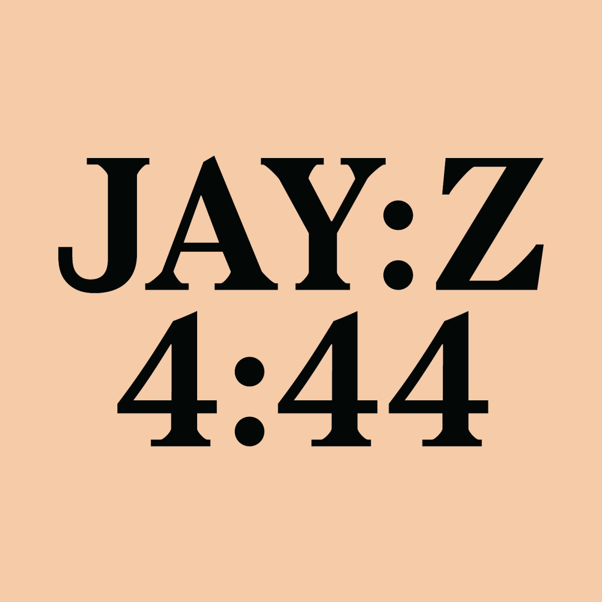 Jay Z 4:44 Album Cover