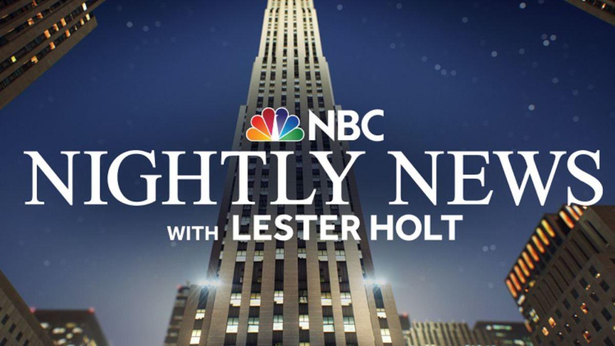 NBC Nightly News Graphic
