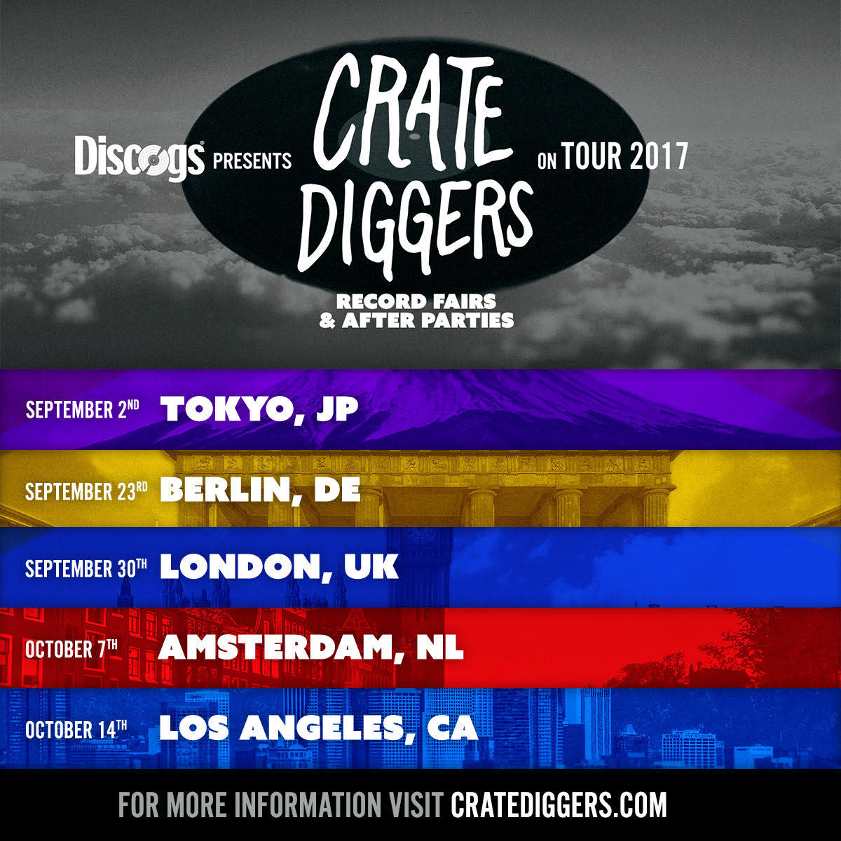 Discogs Crate Diggers Tour