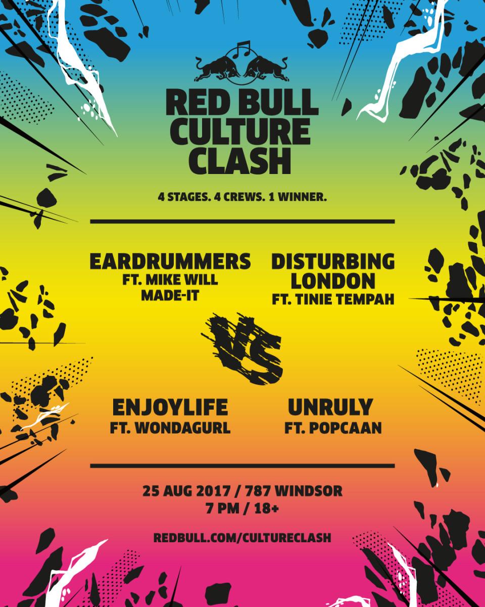 Red Bull Culture Clash Atlanta 2017
