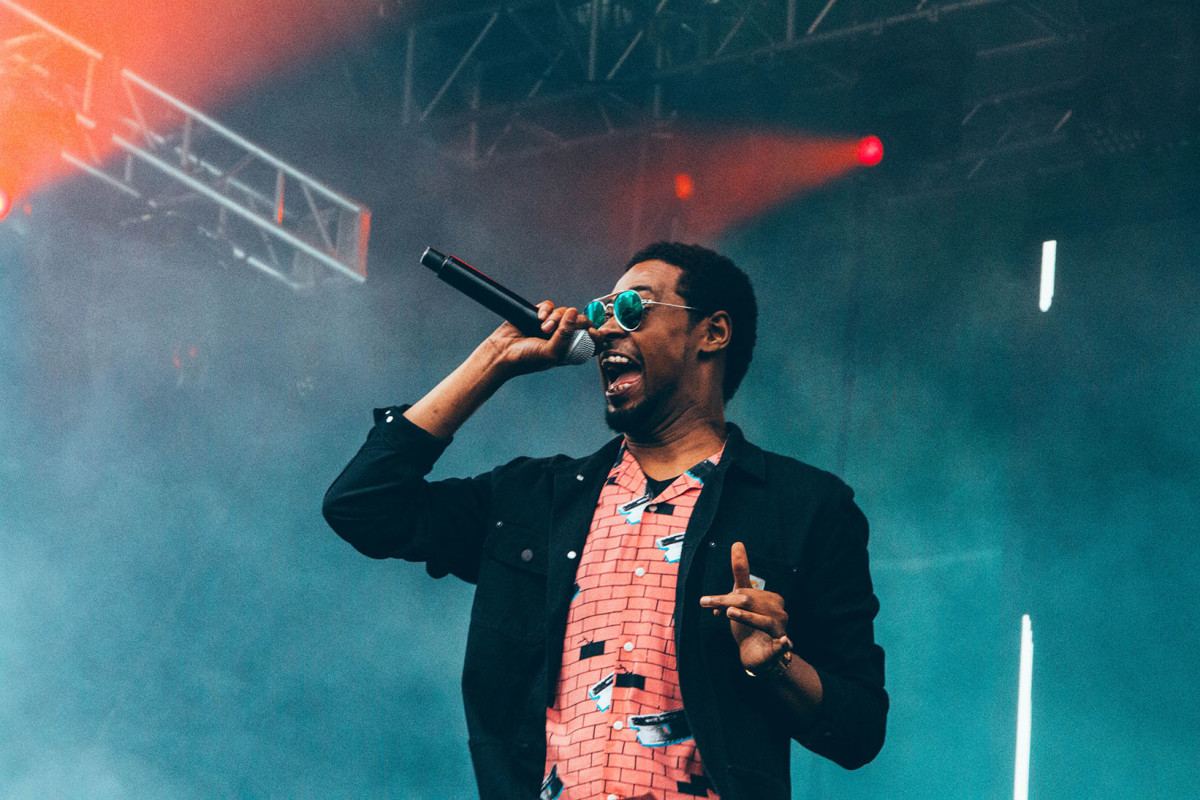 Danny Brown at the Pitchfork Music Festival 2017