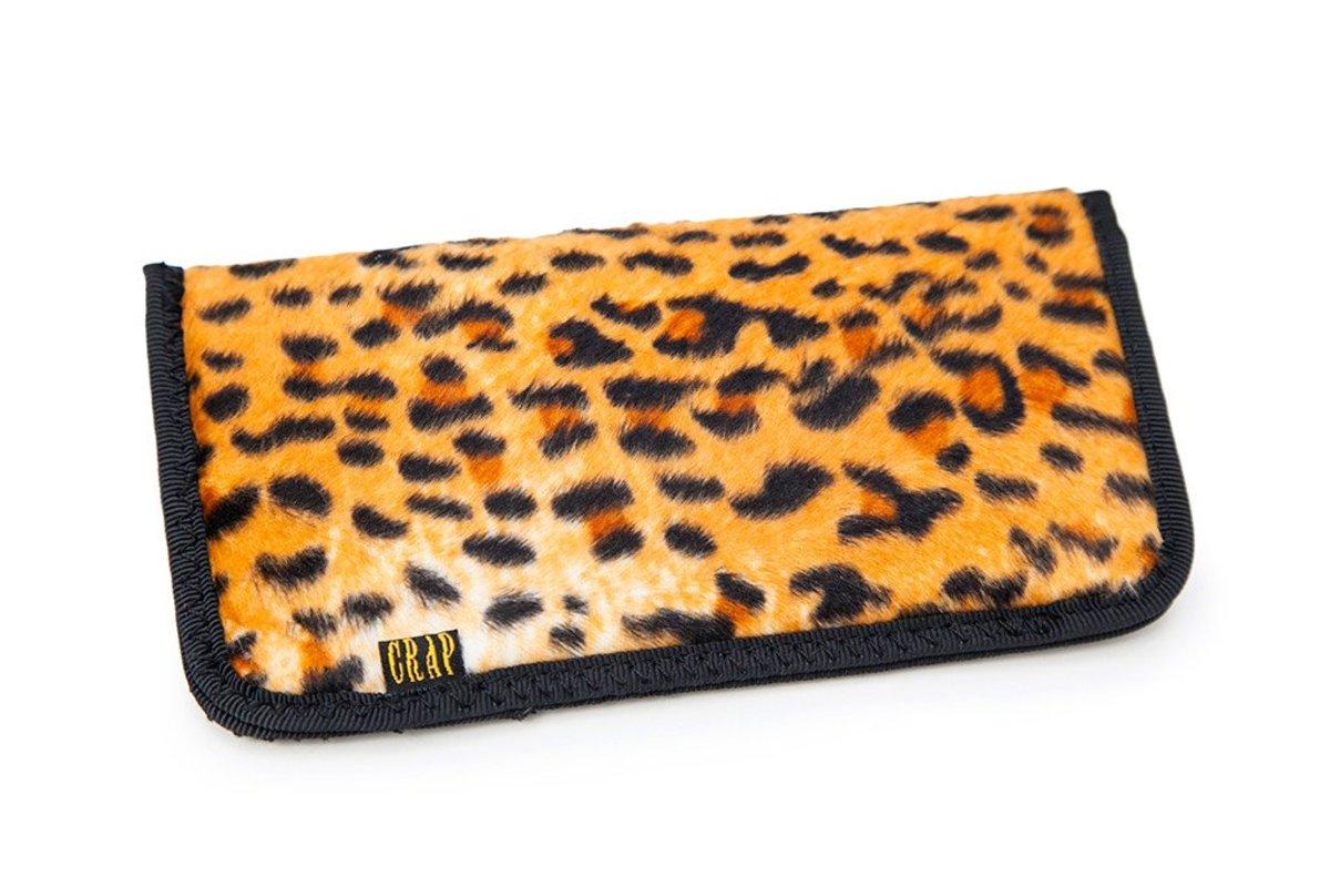Crap Eyewear Leopard Case with The Cobra Snake Velvet Mirror