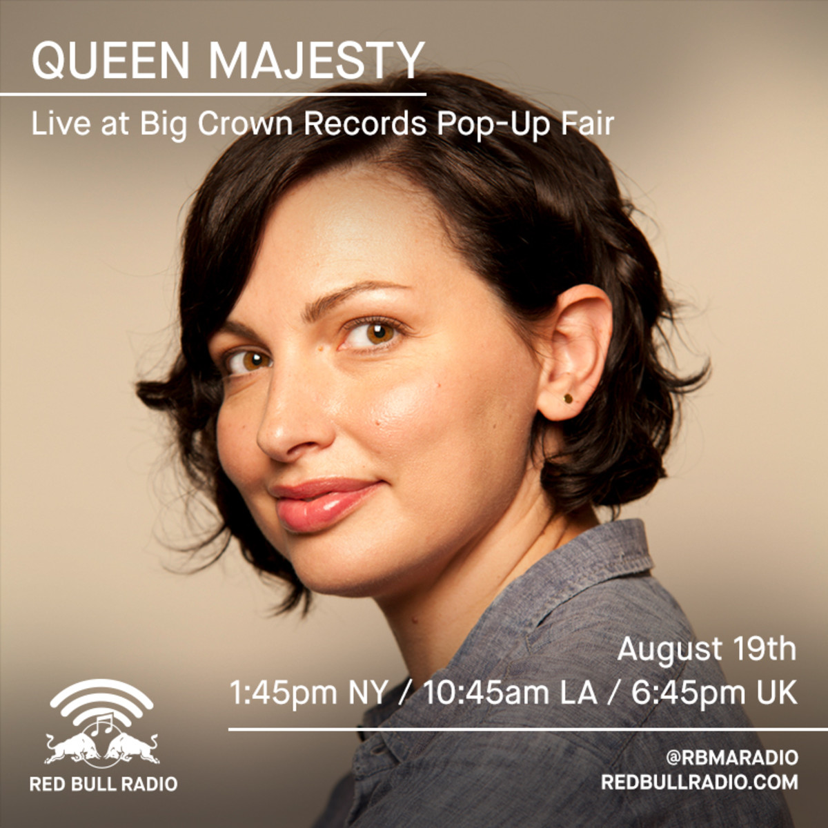 August10_BigCrownRecords_QueenMajesty