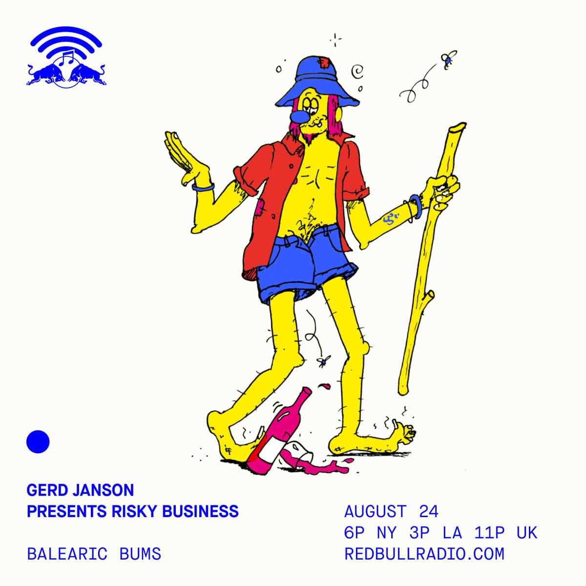 Dive Into Some Balearic Bliss With Gerd Janson - Thursday August 24th at 3 PM PST