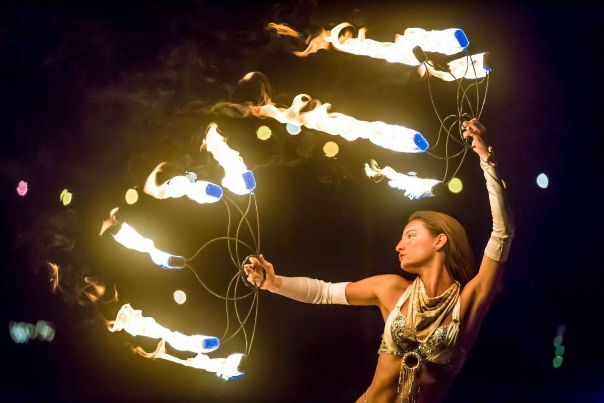 Fire Spinner Jacob