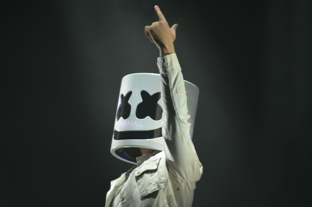 Marshmello Billboard Hot 100 Festival 2017