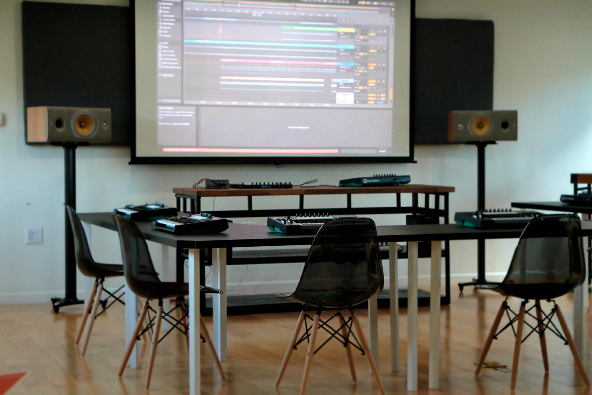 I/O Music Academy Inside shot