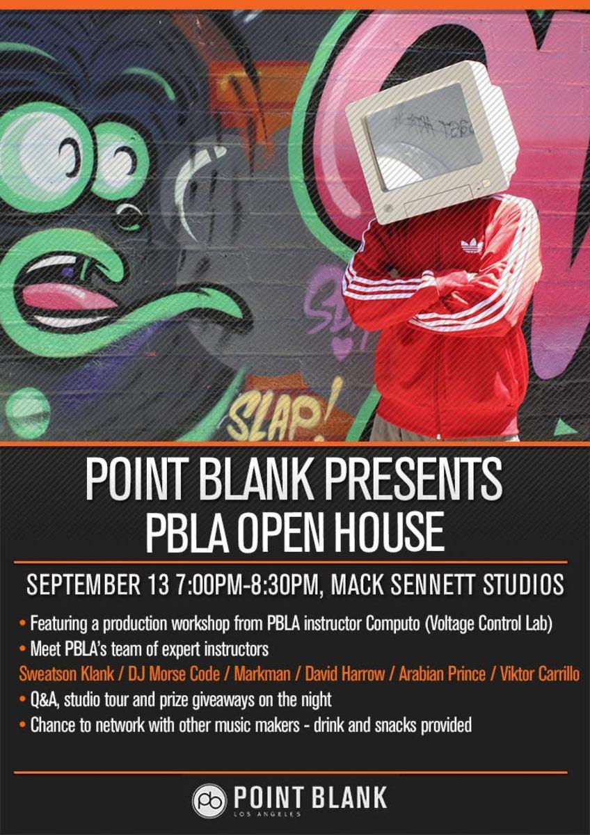 Point Blank Open House September 2017 Computo
