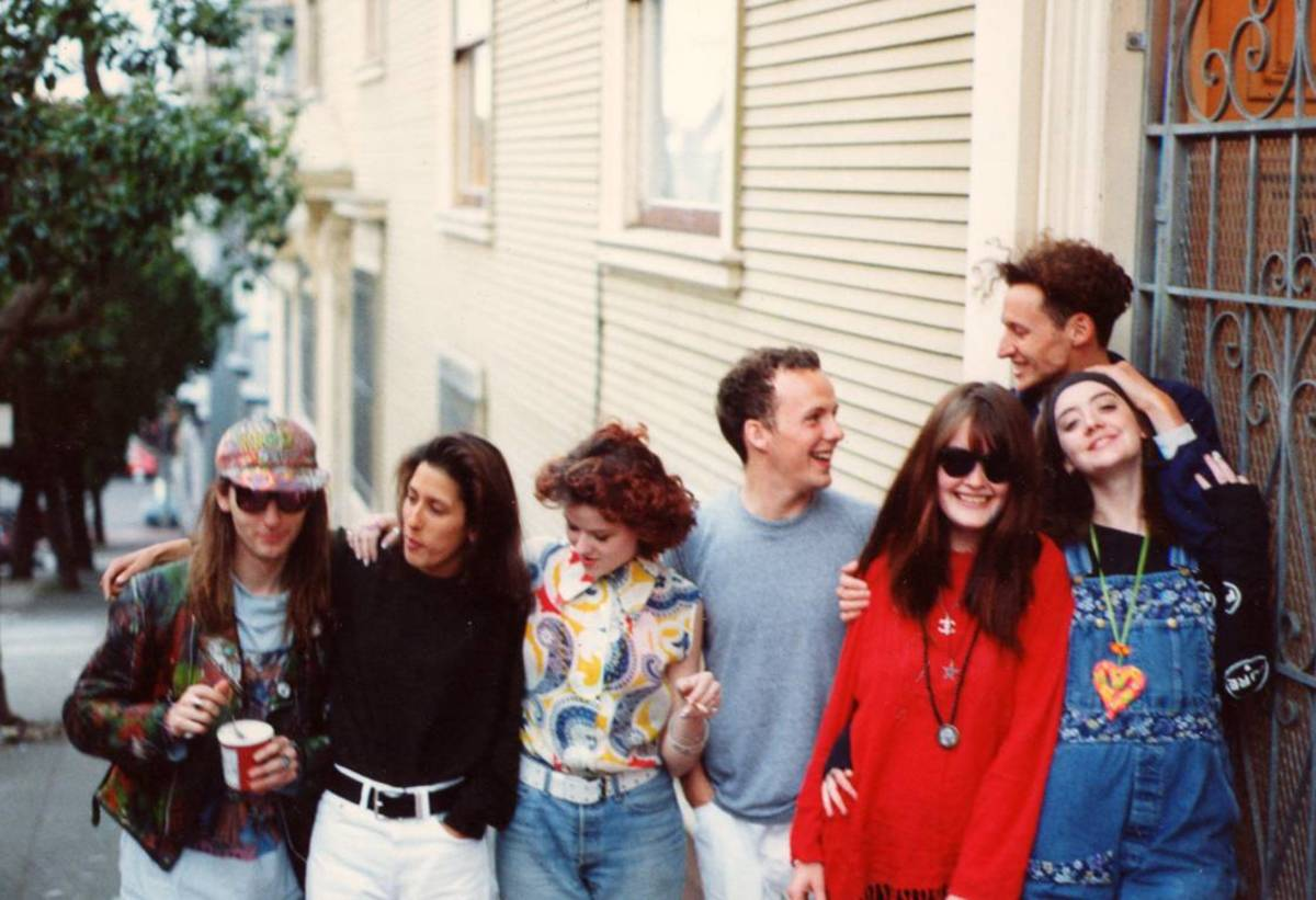 Outside Garth's Apartment San Francisco 1991 - Photo by Lucy Graubart