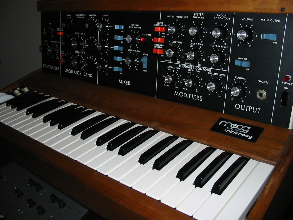 moog music resumes production of minimoog model d  world u2019s