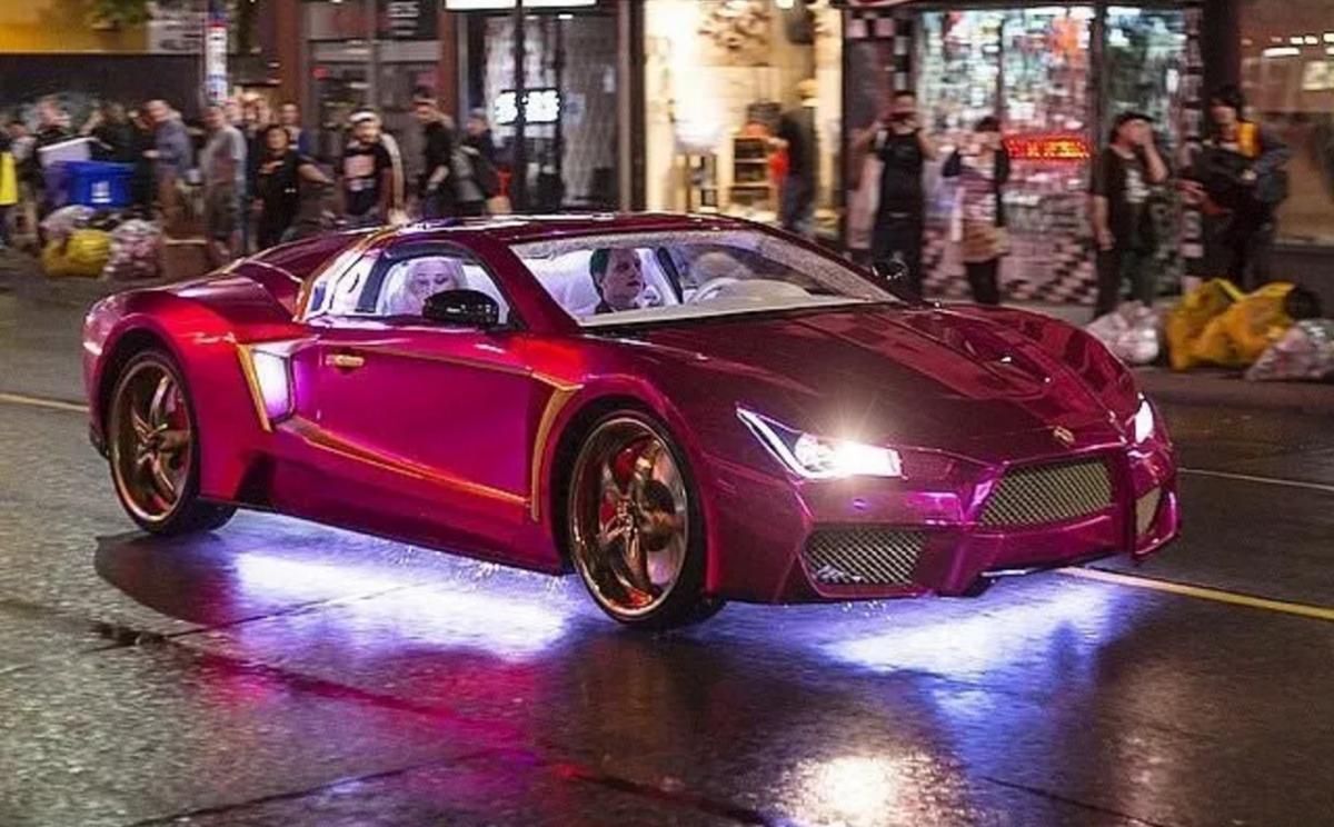 Skrillex And Rick Ross Drop Purple Lamborghini For Suicide Squad