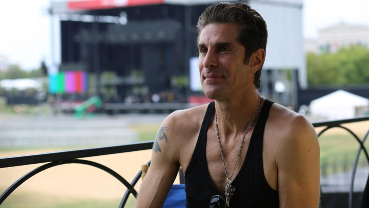Perry Farrel at Lollapalooza in 2012. (Samuel Vega/HOY)