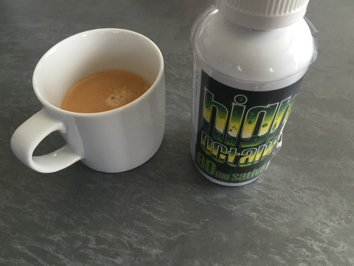 Espresso x High Octane Concentrate 80mg Sativa by Keef Cola