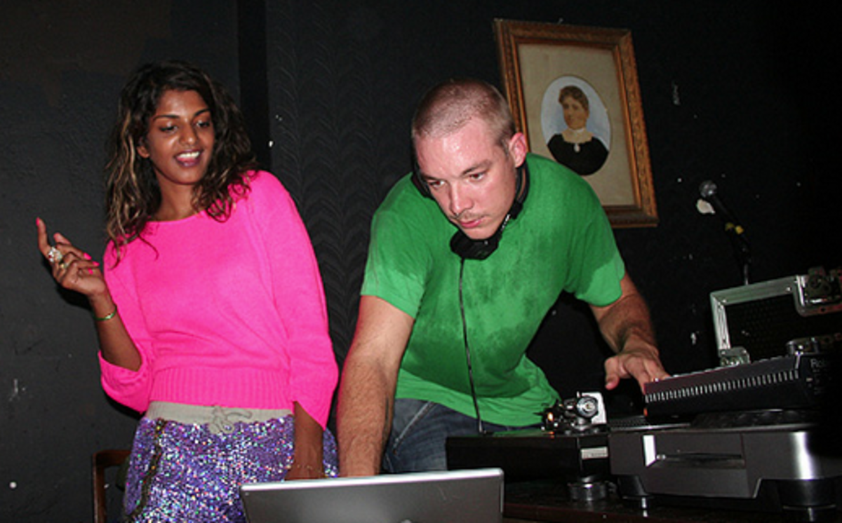 Diplo and M.I.A. Before Split