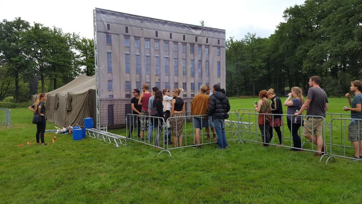 "Berghain Parody ""The Berghenk Experience"" at Beyond Festival"