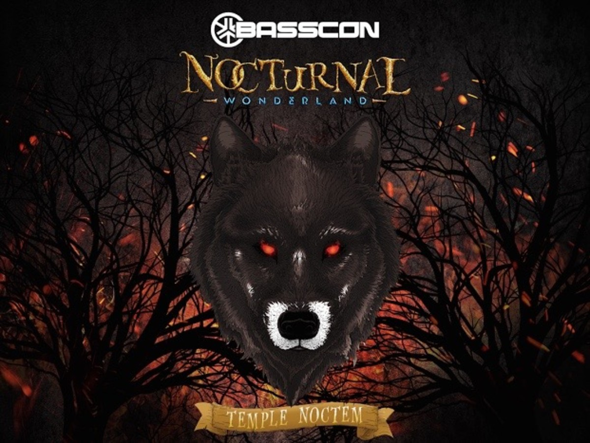 Nocturnal Wonderland Temple Noctem Stage Basscon
