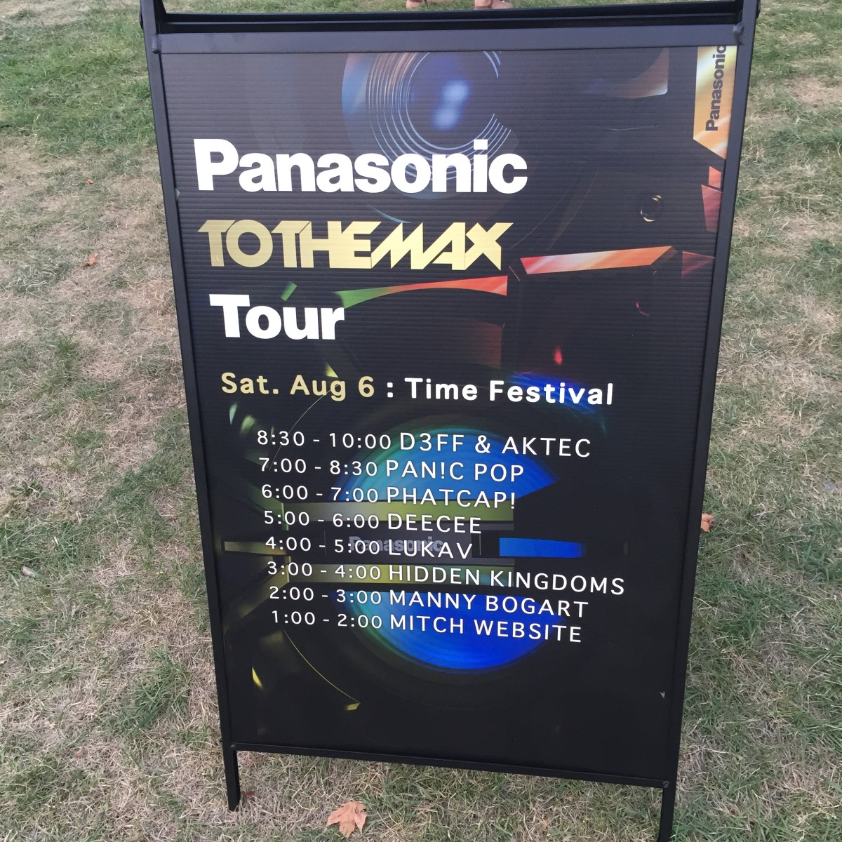Panasonic To The Max stage