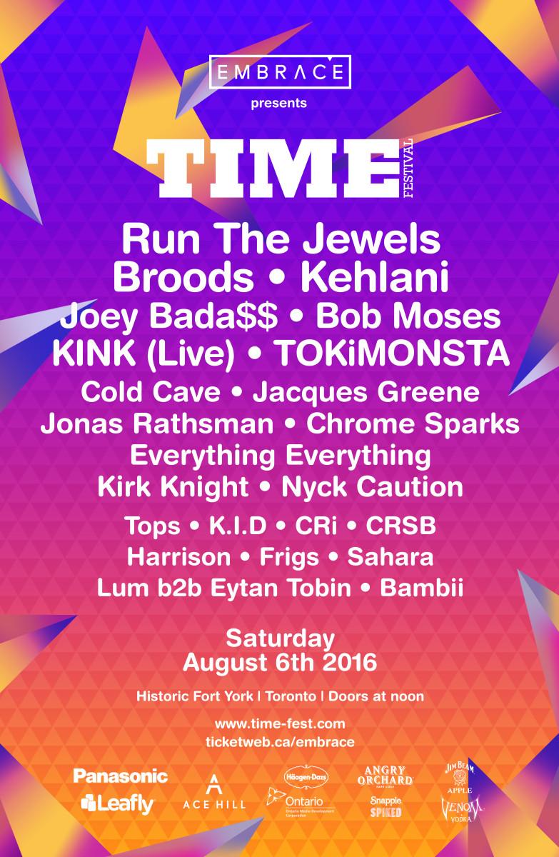 Time Festival Flyer