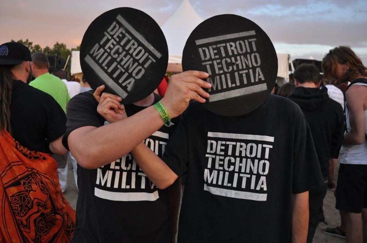 Detroit Techno Militia. Photo Credit: Brent Scudder of Burst Radio
