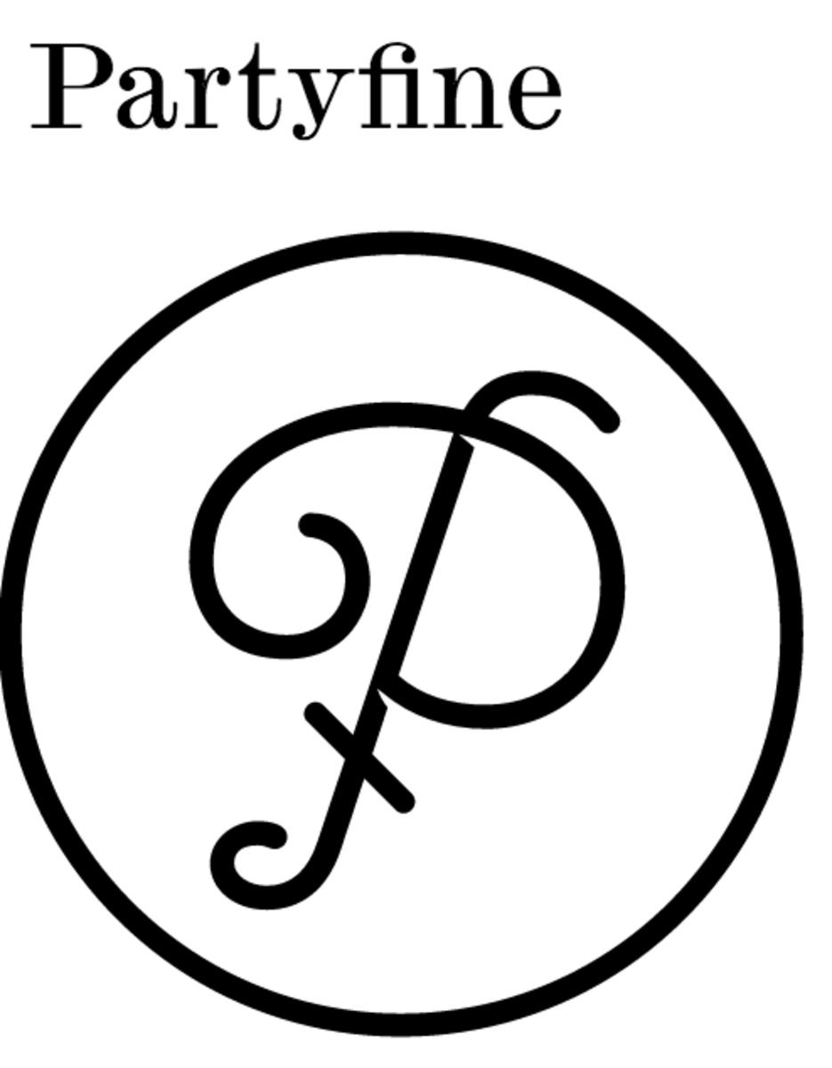 Partyfine Logo Magnetic