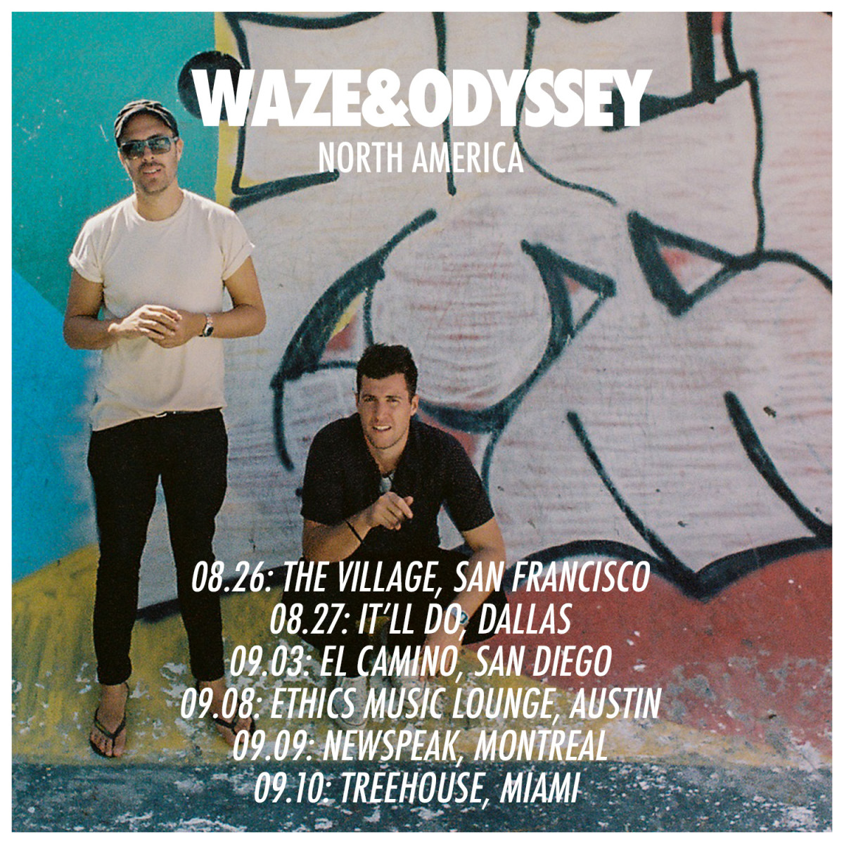 Waze & Odyssey Tour Announcement