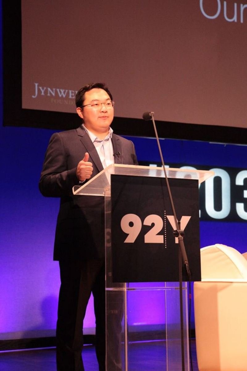 Jho Low at Mashable's Social Good Summit