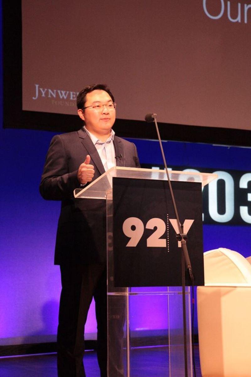 Jho Low at Mashable's Social Good Summit