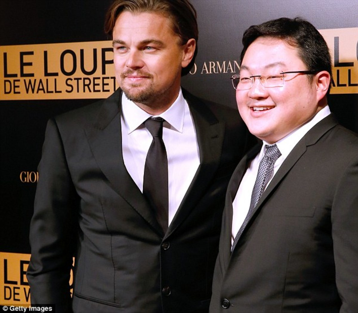 Leonardo DiCaprio with Jho Low (Getty Images)