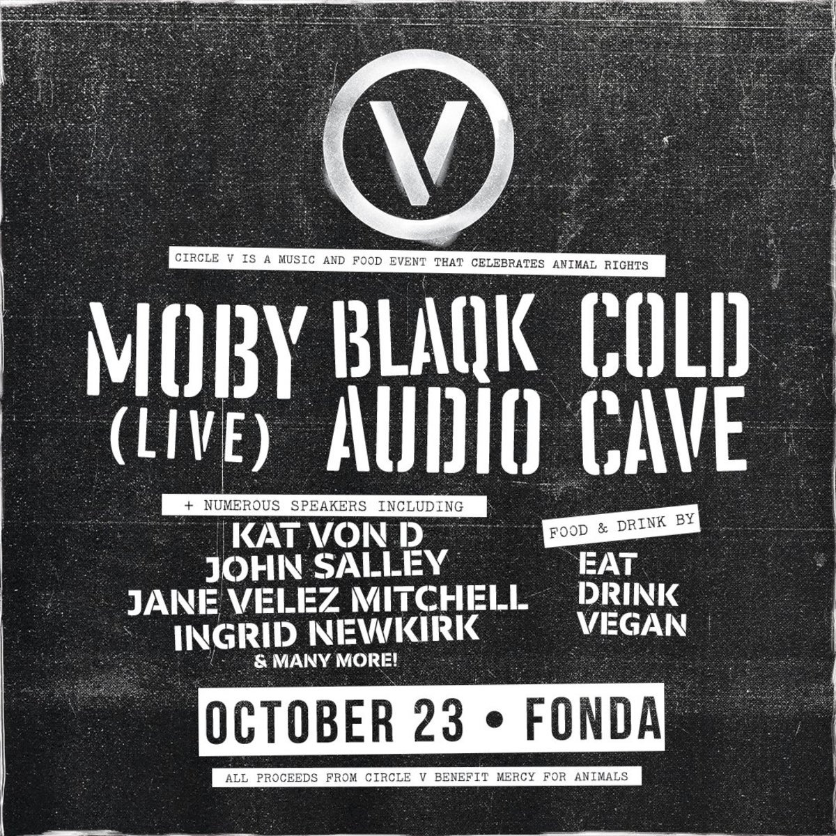 Moby Circle V Goldenvoice