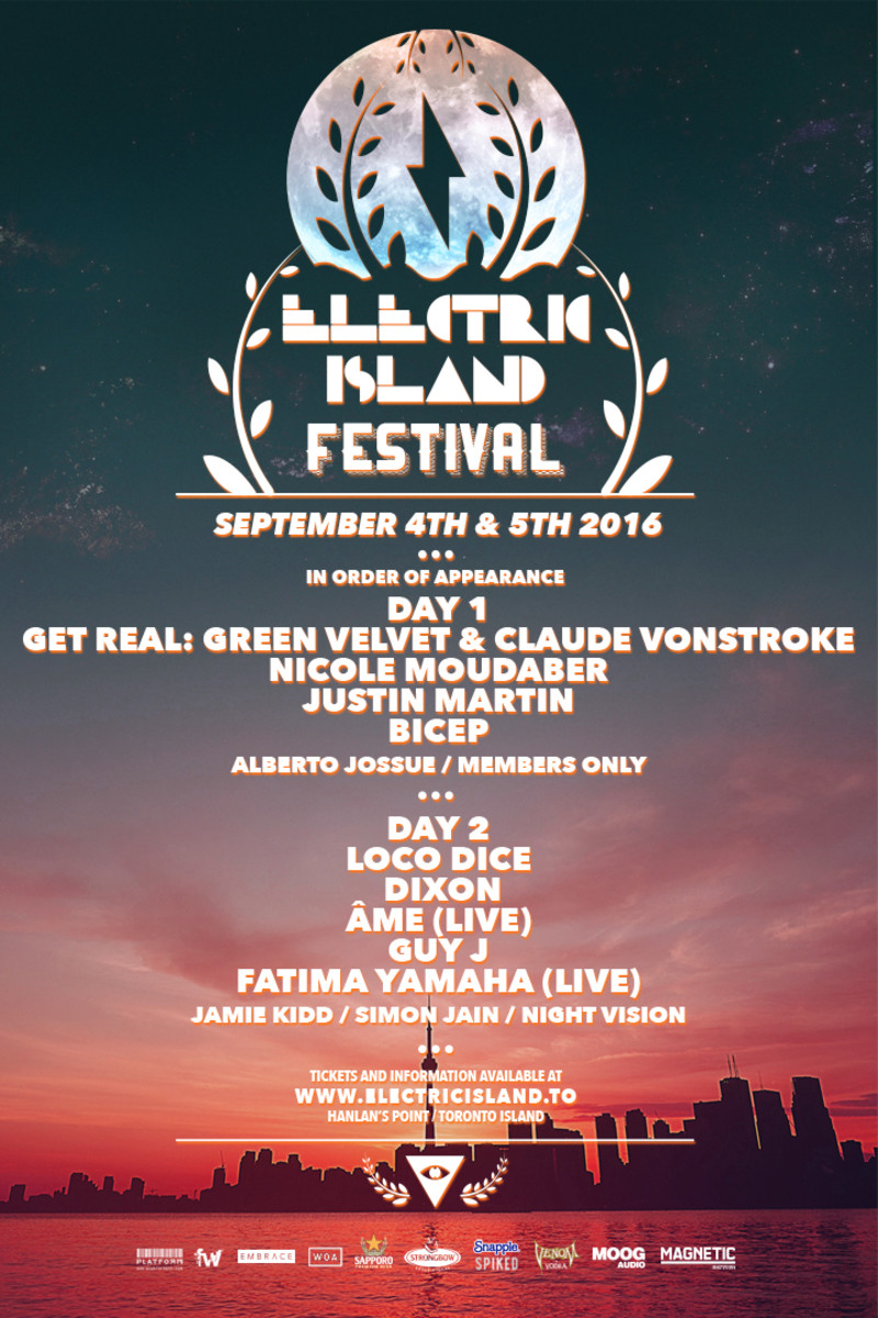 Electric Island 2016 Finale Lineup