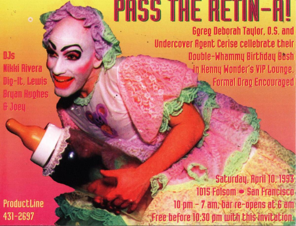 Pass The Retin-A Flyer