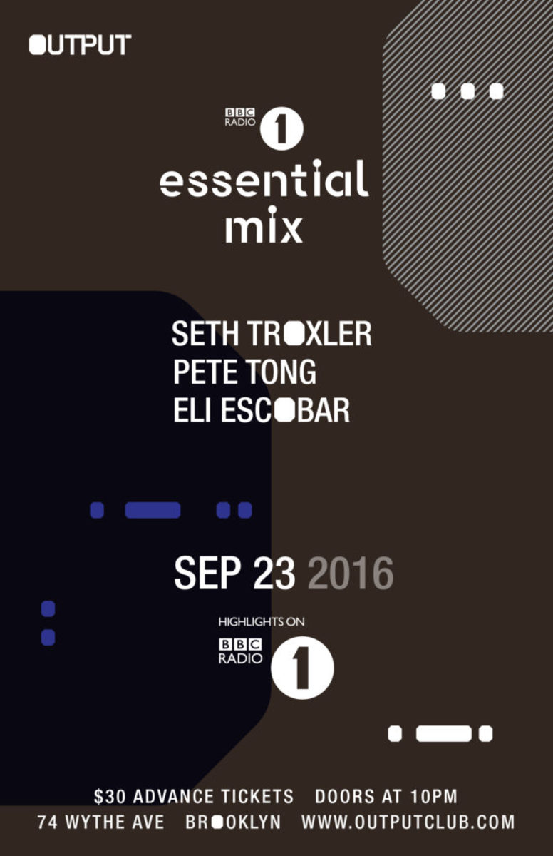 Seth Troxler Output BBC Radio 1 Essential Mix