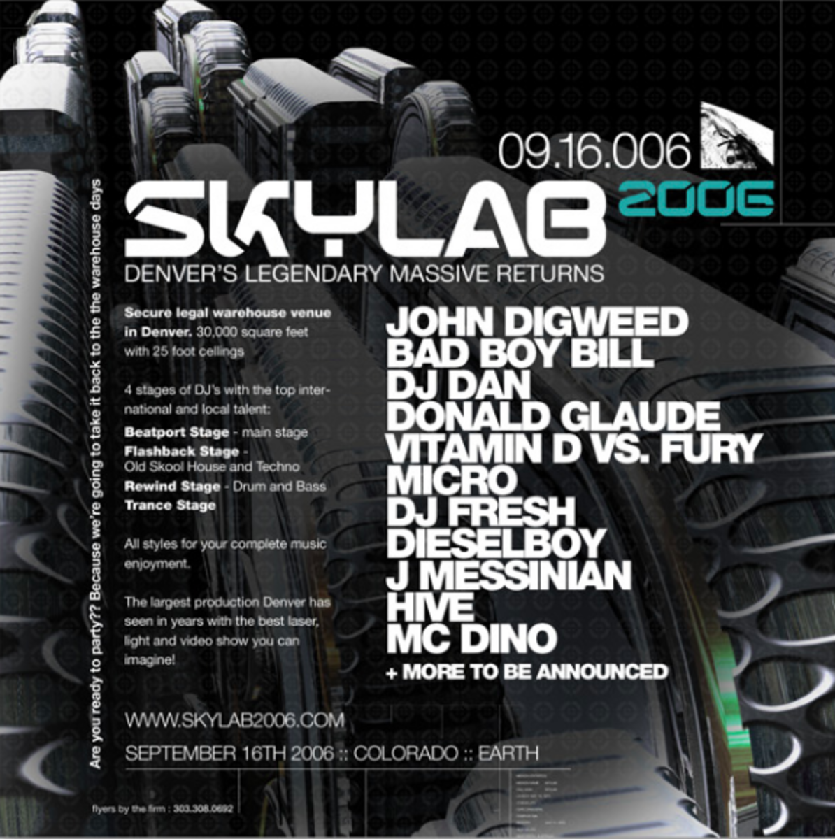 Skylab 2006 Back Flyer