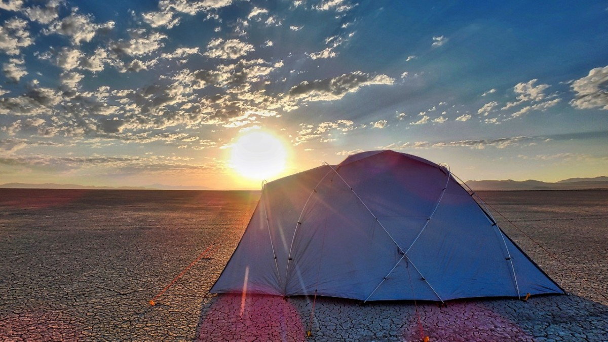 Looking For A Tent That Doesn't Get Hot Inside At Festivals?