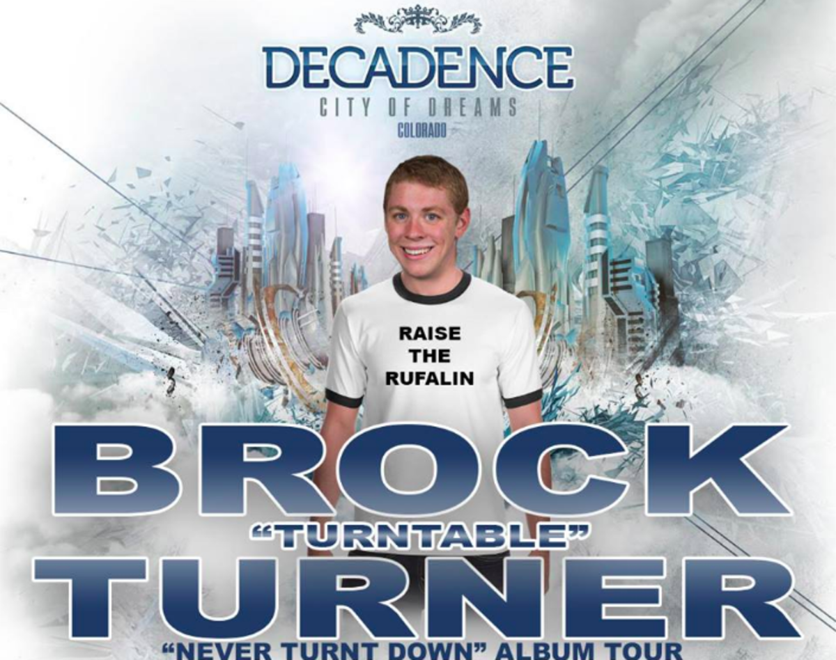 Brock Turner Joman Decadence NYE