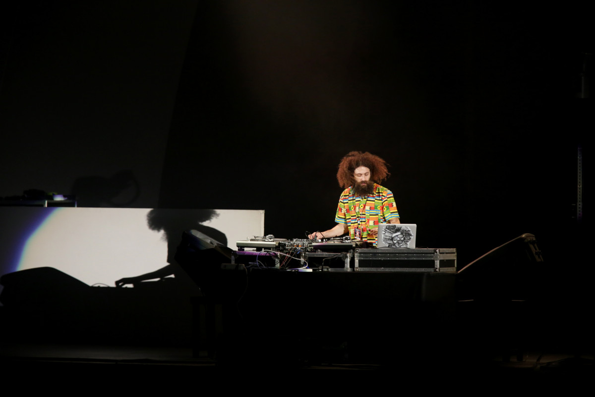 Brainfeeder at the bowl The Gaslamp Killer