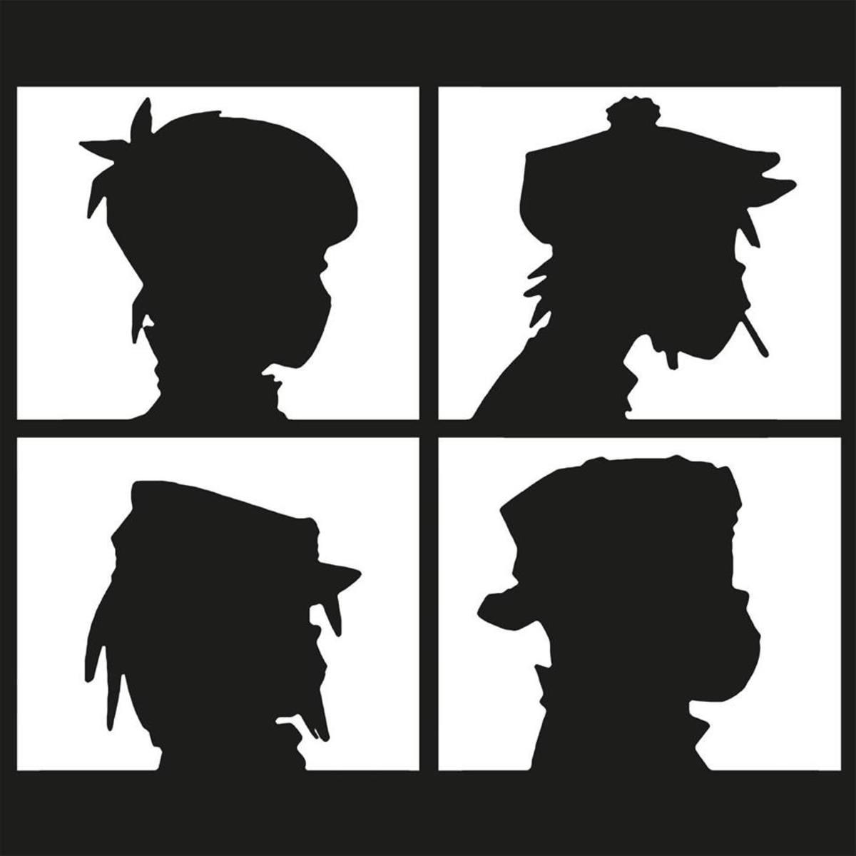 Gorillaz 2016 Profile Pic Silhouettes