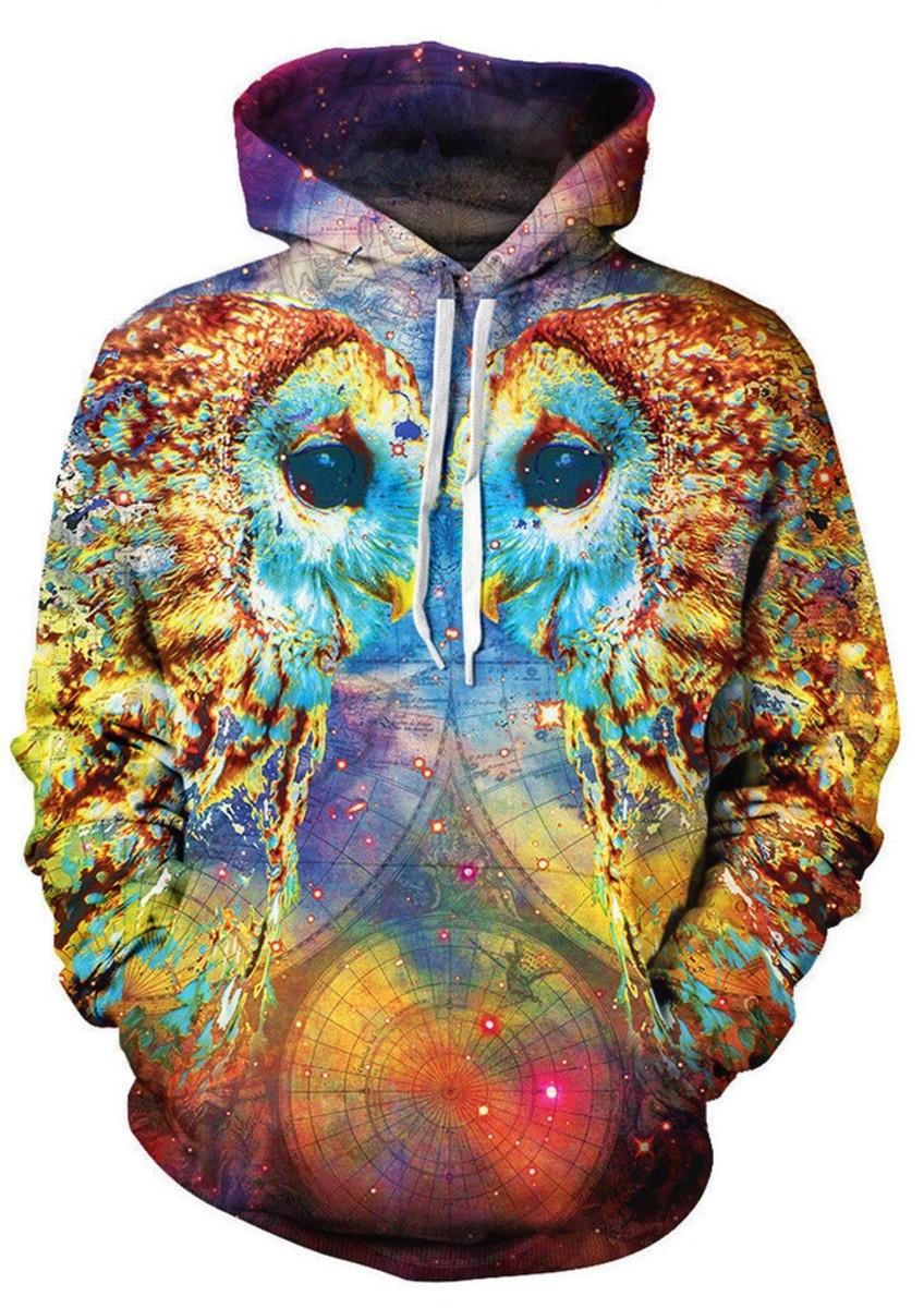 Owl Language Hoodie