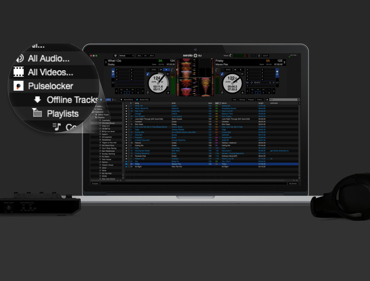 Pulselocker seamlessly integrates with your existing music library within your preferred DJ application.