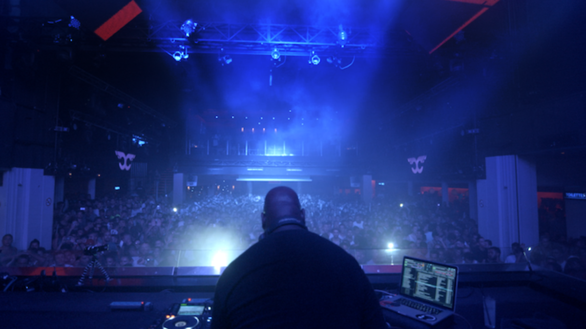 Carl Cox performing at Ultra Music Festival Miami