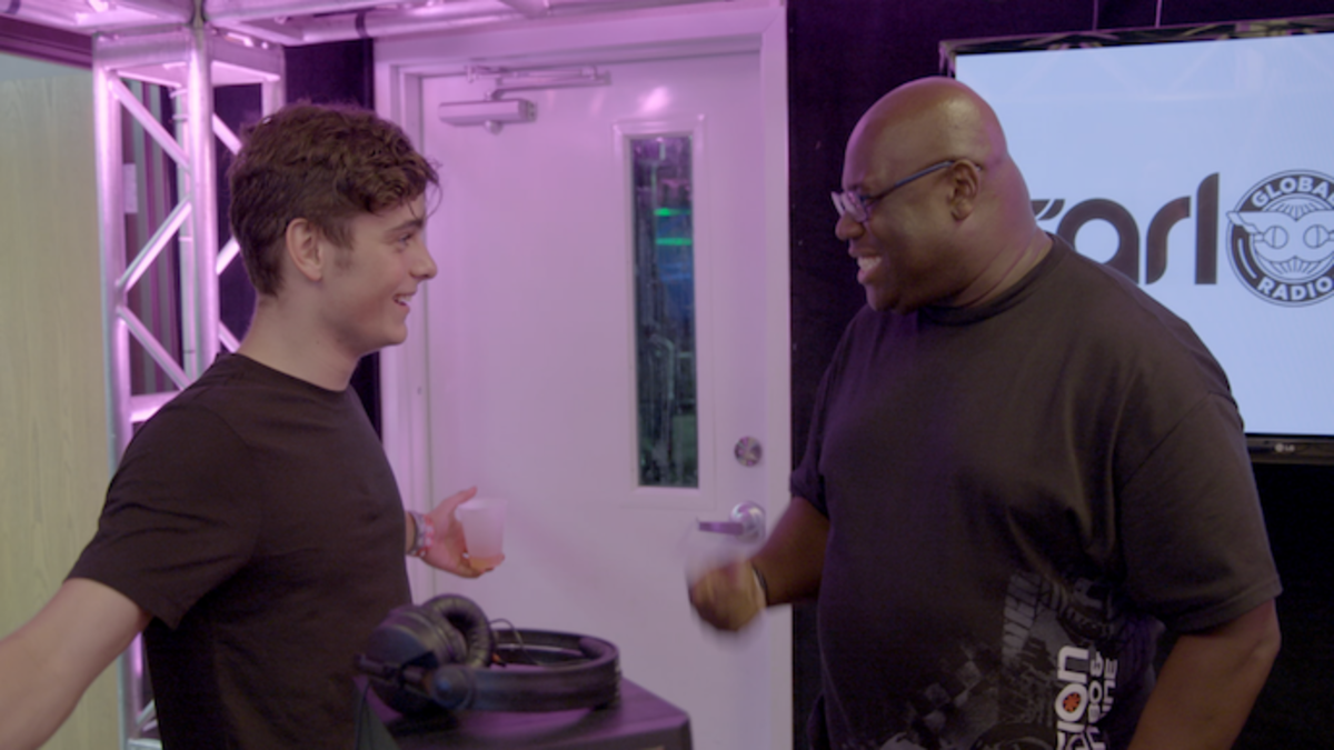 Martin Garrix and Carl Cox