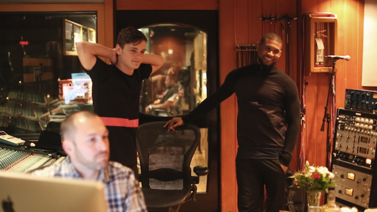 Martin Garrix and Usher in What We Started.