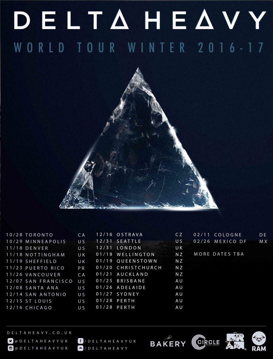 Delta Heavy Fall / Winter Tour 2016/2017