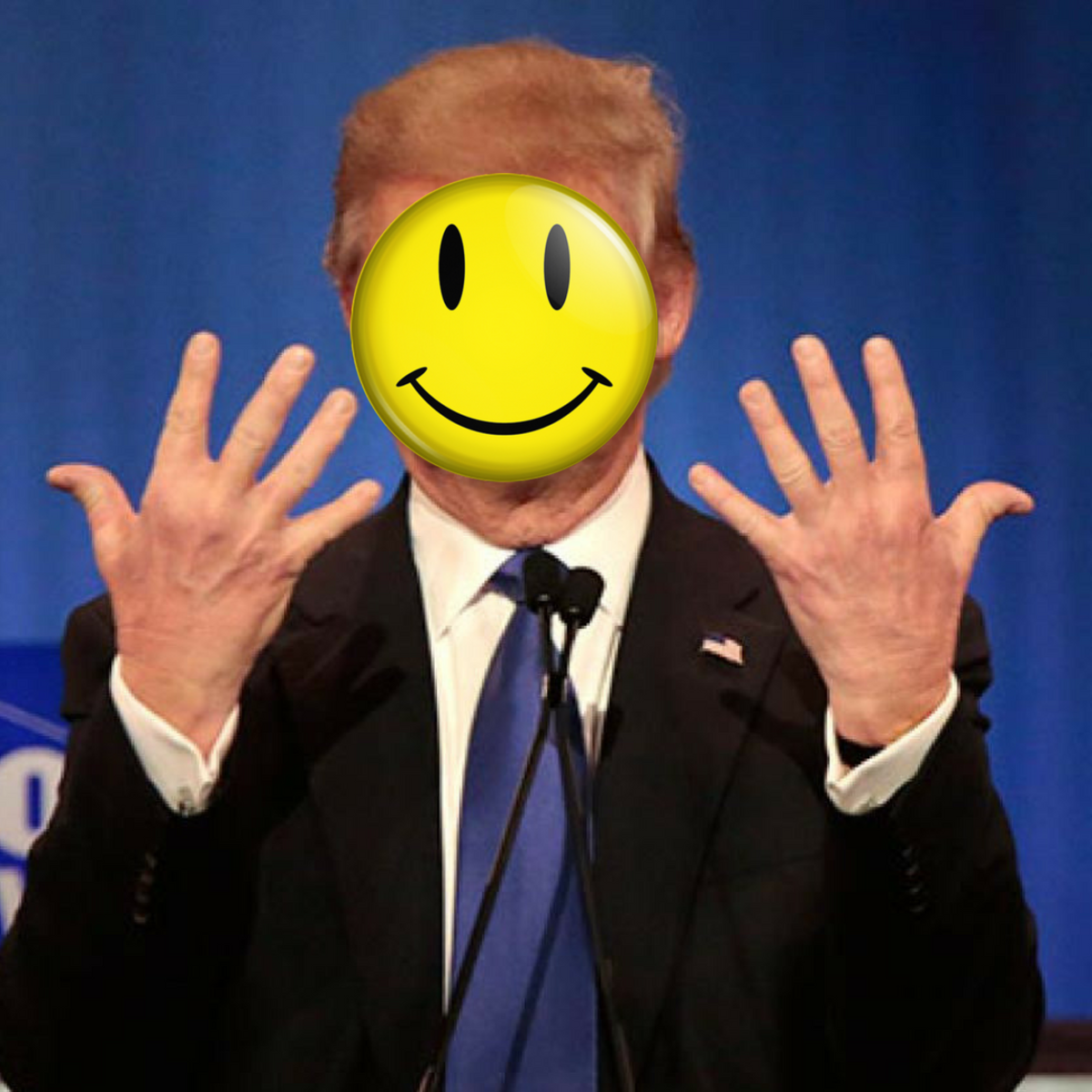 Happy Face Trump