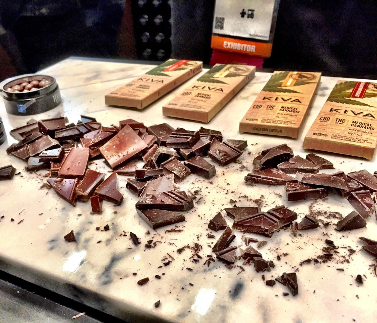 Kiva chocolate samples... delicious.