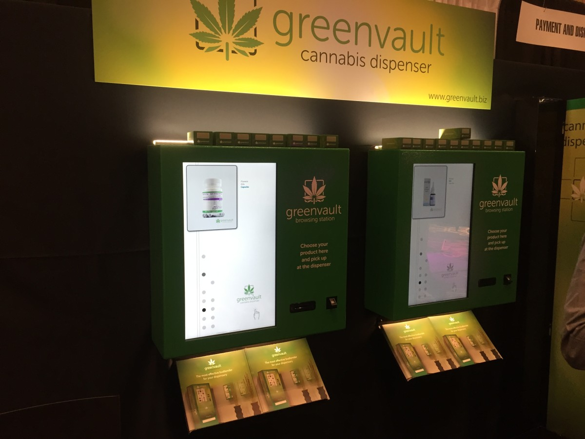 Ok, so I kind of loved the cannabis dispenser. So handy and so forward thinking!