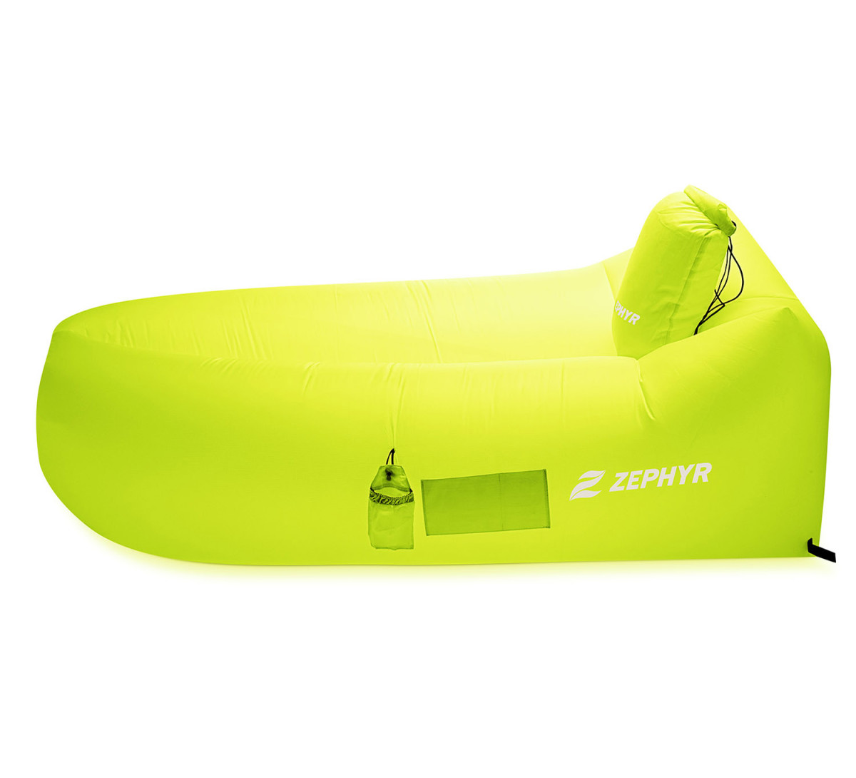 This thing slips into the pillow aka the carrying case, and then right into your bag with ease.
