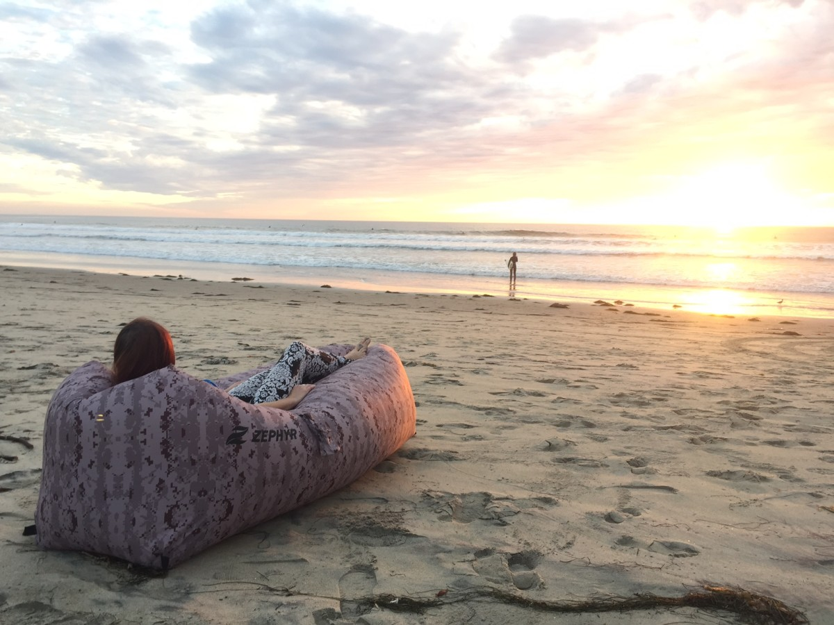 "No better way to watch a sunset! Zephyr ""Major Chill"" model."